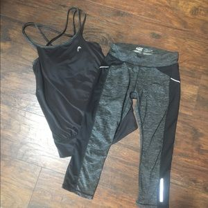 Head workout outfit